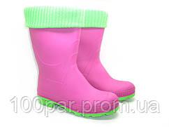 Сапоги подростковые с утеплителем. Розовый. Размер: 36-40