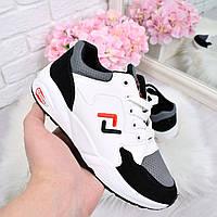 Кроссовки женские под Fila белые 4473  спортивная обувь, фото 1