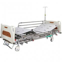 Кровать медицинская механическая с регулировкой высоты, 4 секции