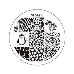 Диск для стемпинга круглый STZ-21