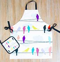 Набор для кухни фартук с прихваткой Barine Birds
