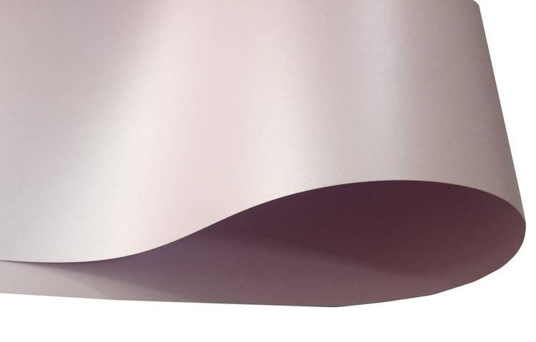 Дизайнерский картон Perl Dream Tafta, розовый перламутровый, 250 гр/м2