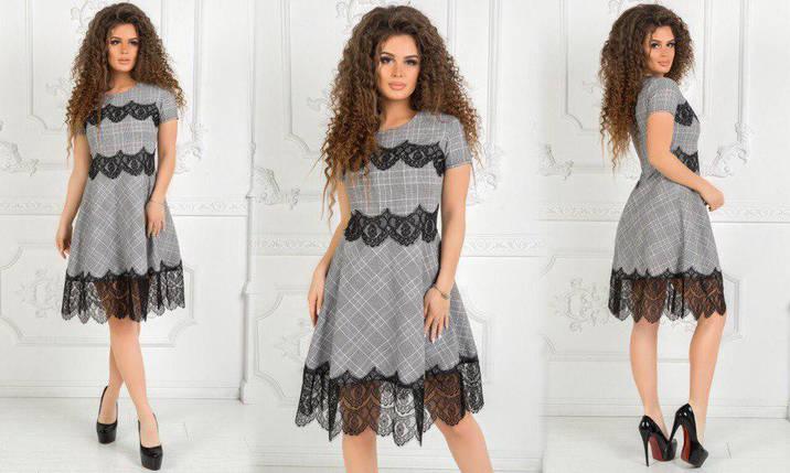 Летнее платье с гипюром, фото 2