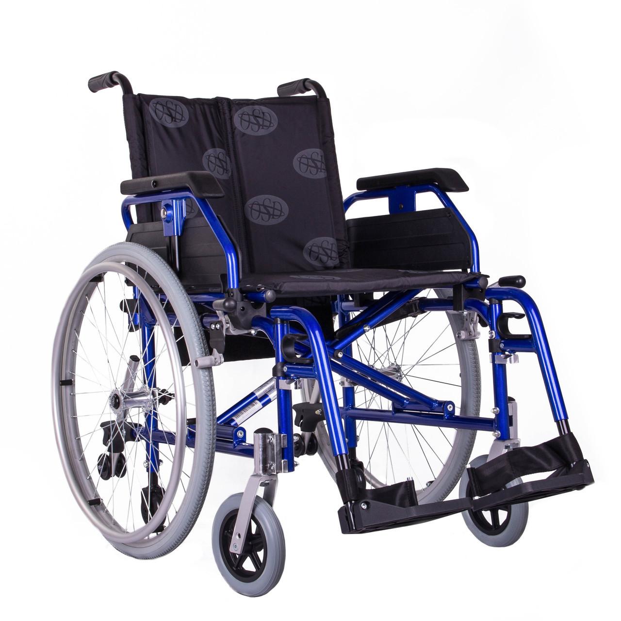 Легка коляска «LIGHT III (синій) OSD-LWA2-**