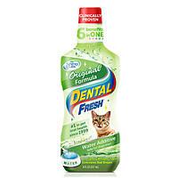 SynergyLabs Dental Fresh Cat СИНЕРДЖИ ЛАБС СВЕЖЕСТЬ ЗУБОВ жидкость от зубного налета и запаха из пасти кошек (0.237)