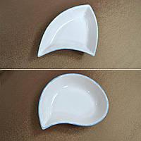Салатник керамическая треугольный