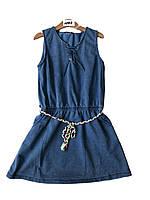 Платье под джинс для девочек оптом, F&D размеры 8-16 лет, арт.2755