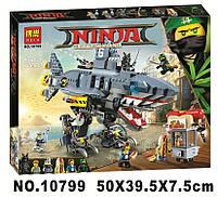 Конструктор Bela 10799 Ninjago Movie ниндзяго муви Гармадон 872 детали, фото 1