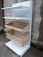 Хлебный стеллаж бу., стеллаж для хлеба б/у., фото 1