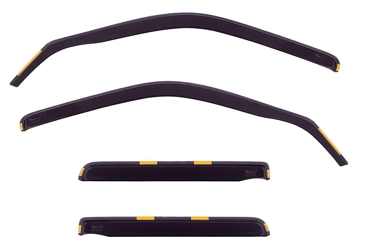 Дефлекторы окон ветровики на VOLKSWAGEN Фольксваген VW Golf-3 Vento 1991-1997 4D вставные 4шт