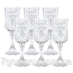 Набор из 6 бокалов для шампанского Bailey Ease 200 мл прозрачный (101-86)