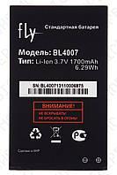 Аккумулятор Fly ds123 (BL4007) 1700mah (оригинал тех. упаковка)