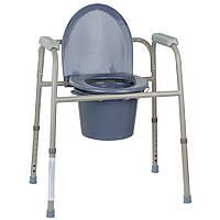 Стальной стул-туалет