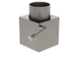 Патрубок для горелки Pellas X44-X120