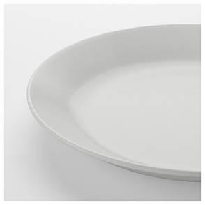 ОФТАСТ Тарелка десертная, белый, 19 см 60318939  IKEA, ИКЕА, OFTAST, фото 2
