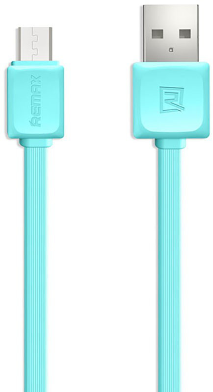 Кабель microUSB Fast Data 1м blue Remax 310903