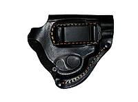 Кобура поясная кожаная для револьвера (со скобой), фото 1