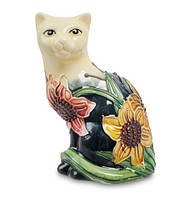 Фарфоровая статуэтка Кошка (Pavone) JP-95/ 1