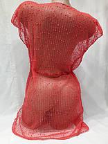 Платье пляжное 301 Грейс бордовый на наши 42-50 размеры., фото 3