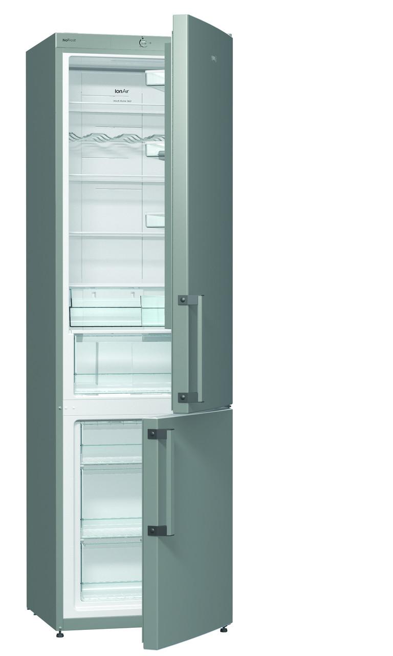 Двухкамерный холодильник Gorenje NRK6201GX