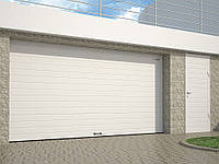 Гаражные секционные ворота  с пружинами растяжения RSD01 2800\2500мм
