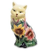 Фарфоровая статуэтка Кошка (Pavone) JP-95/19