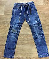 Джинсовые брюки для мальчиков Seagull 134-164 см