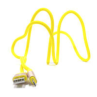 Дата кабель iMax microUSB 3.0 Yellow (330328)