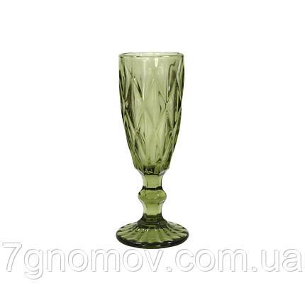 Бокал для шампанского Bailey Miranda 180 мл зеленый (101-89), фото 2