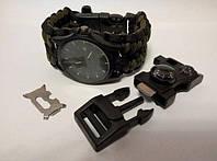Кварцевые Часы SBAO и браслет выживания 15 в 1