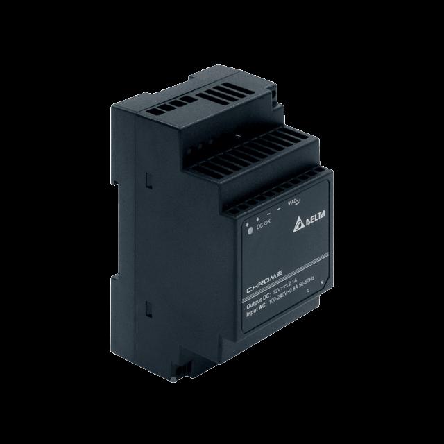 DRC-24V30W1AZ Блок питания на Din-рейку Delta Electronics 24В, 1,25A / аналог HDR-30-24, MDR-40-24 Mean well