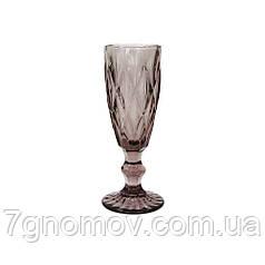 Бокал для шампанского Bailey Miranda 180 мл розовый (101-90)