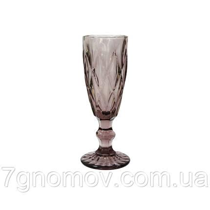 Бокал для шампанского Bailey Miranda 180 мл розовый (101-90), фото 2