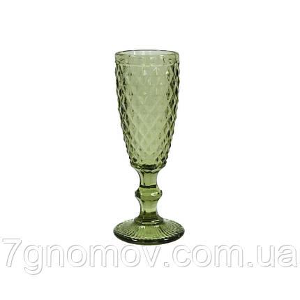 Бокал для шампанского Bailey Aeon 200 мл зеленый (101-92), фото 2