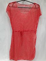 Платье пляжное 301 Грейс терракот на наши 42-50 размеры., фото 2