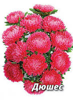 Семена астры Дюшес, 5 гр., кримсон