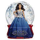 Кукла Барби Barbie коллекционная праздничная коллекция в синем платье Barbie Holiday Doll dgx99, фото 7