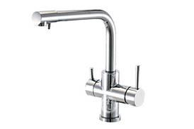 Трипозиційний змішувач вода + осмос на кухонну мийку Aquafilter FXFCH13-3M _K