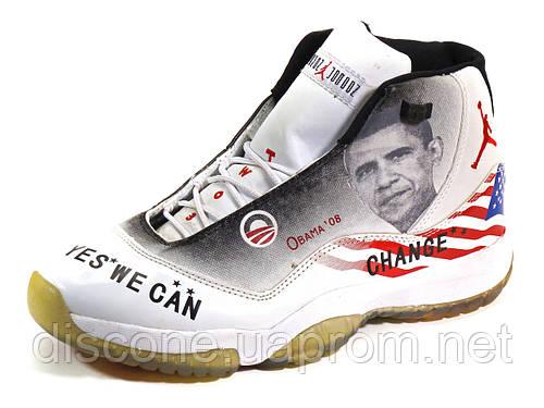 Jordan кроссовки баскетбольные белые американский флаг