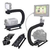 Video Action Grip рукоятка-держатель для камеры и вспышки, для съемок в движении