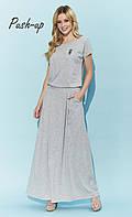 Летнее платье Zaps Selina серое, фото 1