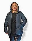 Демисезонная утепленная куртка. Новая коллекция QARLEVAR ВЕСНА -20183XL-7XL, фото 2