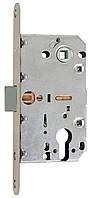 Механизм PZ Siba SB 8550 SN (матовый никель) с бесшумной защелкой (аналог AGB замка)