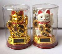 Манэки неко (кіт щастя, вабливий кіт) фен - шуй, висота 9 див.