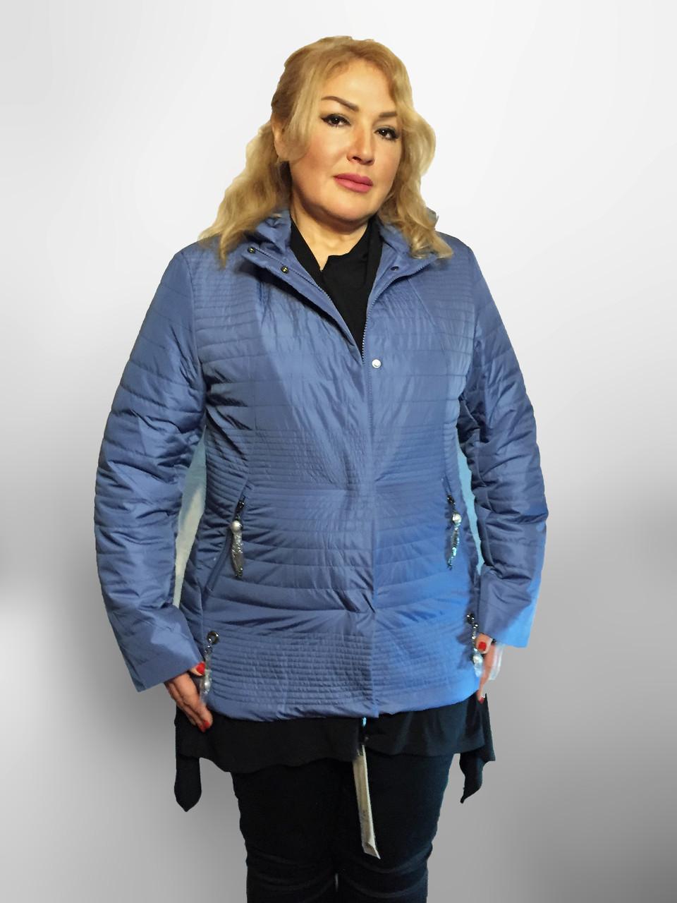 Демисезонная утепленная куртка. Новая коллекция QARLEVAR ВЕСНА -20183XL-7XL