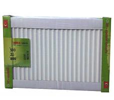 Радиатор стальной с боковым подключением TERRA Teknik 22 тип 500 x 400
