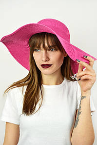 Широкополая шляпа Фрейзер малиновая