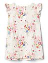 Трикотажное платье для девочки GAP в цветочный принт, фото 3