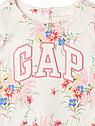 Трикотажное платье для девочки GAP в цветочный принт 18-24 мес//78-86 см, фото 2