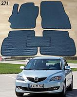 Коврики на Mazda 3 '04-09. Автоковрики EVA
